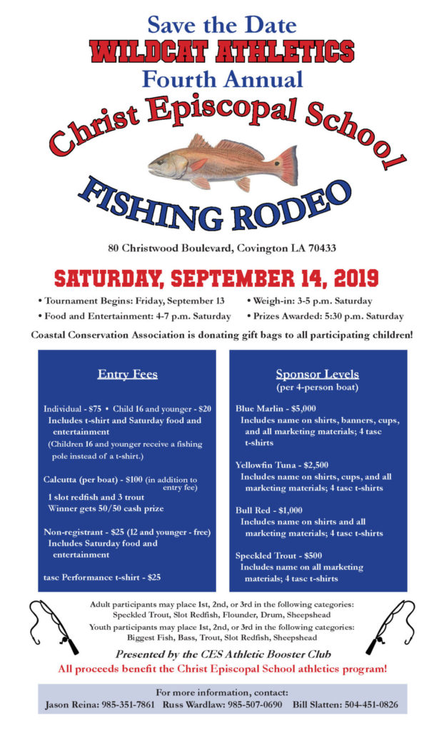 Fishing Rodeo Poster